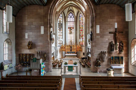 truly: The St. James Church in Nuremberg is a truly historical place with the citys oldest High Altar