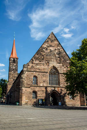 high altar: The St. James Church in Nuremberg is a truly historical place with the citys oldest High Altar
