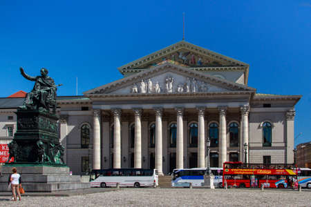 New Residence Theatre of the Residence in Munich located in the inner city close to Odeonsplatz and houses the Bavarian State Theatre, it is one of the most important German languages theatres in the world