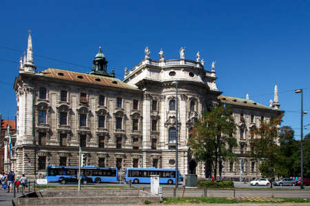 judicial: The palace of justice in Munich is a judicial and administrative building in the Bavarian capital
