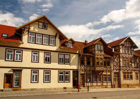 inner city: Buildings in the inner city of Roemhild