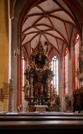 collegiate: The collegiate church (Stiftskirche) in Roemhild