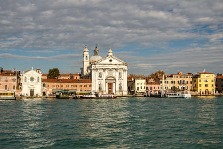 St. Mary of the Rosary (Santa Maria del Rosario) is a Dominican church on the Giudecca Canal, the building started in 1725 and consecrated in 1743