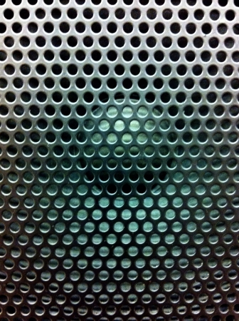 grill: Speaker background texture Stock Photo