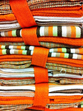 garment: Stack of cloths