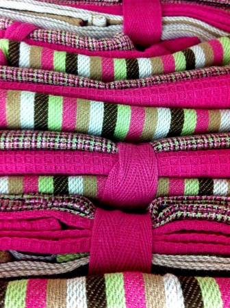 cotton fabric: Stack of cloths