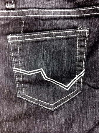 casual: Jeans pocket background