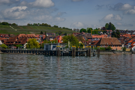 There are a lot of sights at lake constance at the swiss german austrian border