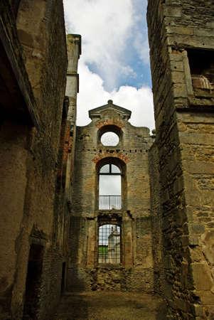 elizabethan: Remnants of an Elizabethan mansion