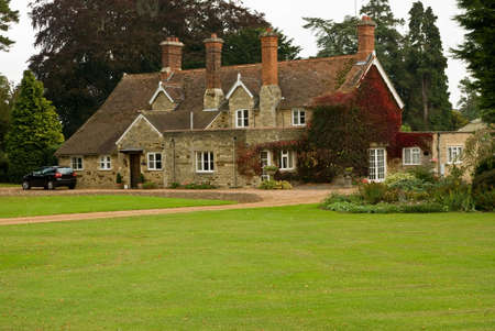 europeans: A stone and pantile English country house