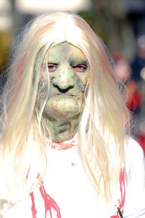 carnival and halloween terrific horror zombi masch Stock Photo - 4377088