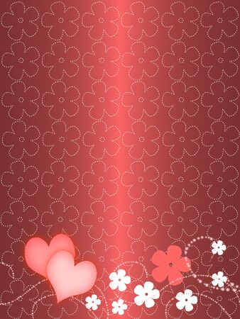 pink abstract floral background photo