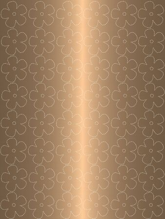 floral abstract gold background Stock Photo - 9013029