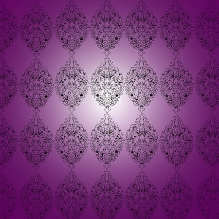 purple vintage pattern photo