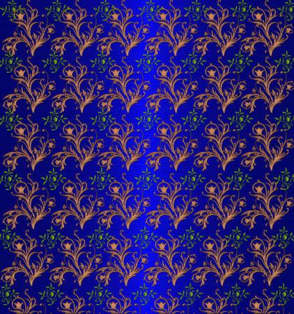 blue floral shine background photo