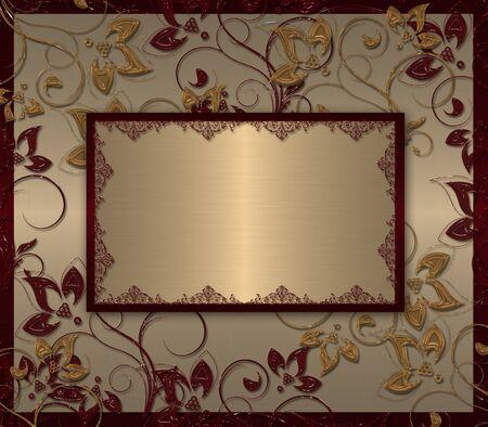 gold banner photo