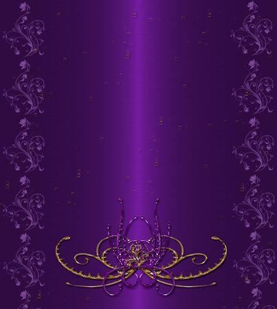 vintage violet background Stock Photo - 9756489
