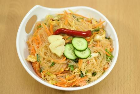 salad of Korean noodle photo