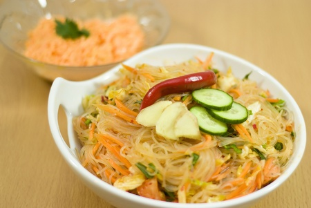 salad of Korean noodle photo