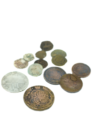 antiquary: Russian antique copper and silver coins