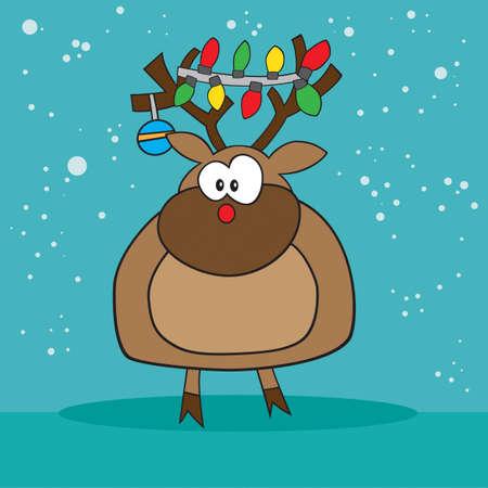 nariz roja: Holiday Rudolf, el reno de la nariz roja raro