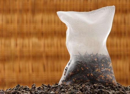 옥수수 실크 홍차 가방에 유기농 차.