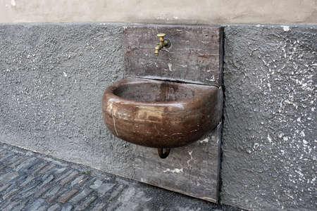 gargouille: Lavabo - gargouille dans le vieux Prague