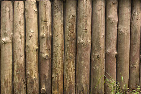 palisade: Old wood, palisade, fence Stock Photo