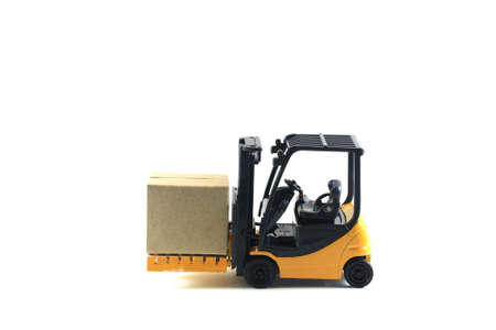 forklift truck: Electrical Forklift truck Stock Photo