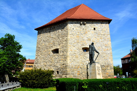 Medieval fortress in Cluj-Napoca, Transylvania