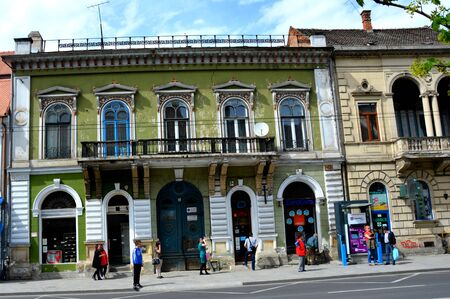 typical: Typical building in Cluj-Napoca Editorial