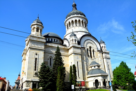 Orthodox Cathedral in the center of Cluj-Napoca Editorial