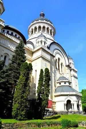 Orthodox cathedral in center of Cluj-Napoca, Transylvania