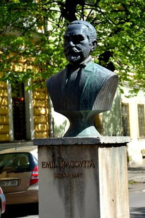 babes: Statue in Cluj-Napoca, Transylvania Editorial