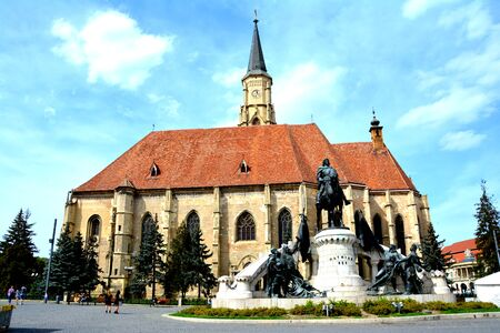 Catholical curch in Cluj-Napoca, Transylvania