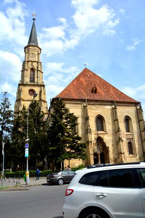 Catholical church in Cluj-Napoca, Transylvania
