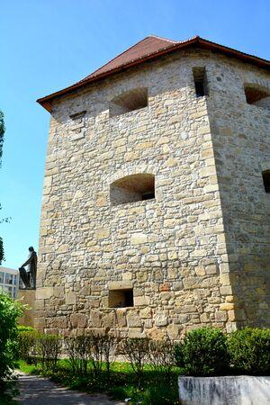 Tower of the medieval town Cluj-Napoca, Transylvania