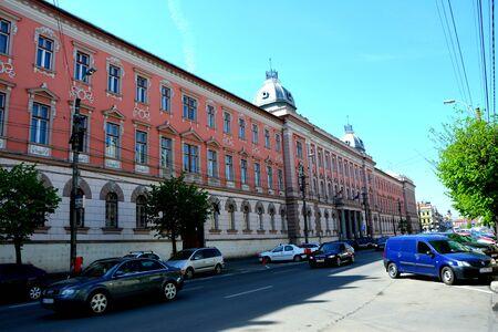 Official building in Cluj-Napoca, Transylvania