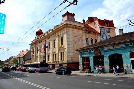 babes: Typical urban landscape in Cluj-Napoca, Transylvania