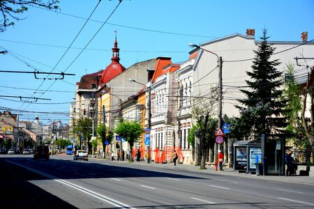Downtown in Cluj-Napoca