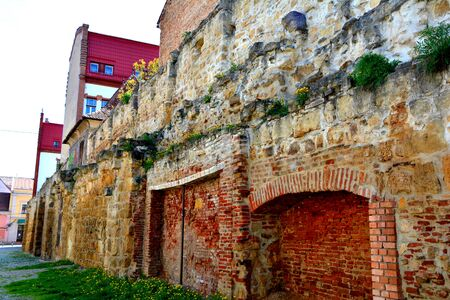 Walls of the medieval town Cluj-Napoca
