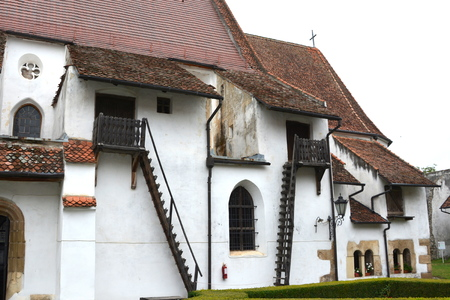 Fortified church Harman (honigburg), Transylvania