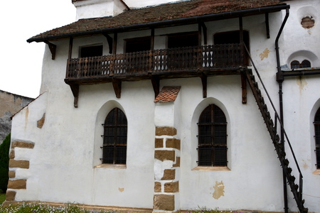 cetatuia: Fortified church Harman Honigburg), Transylvania