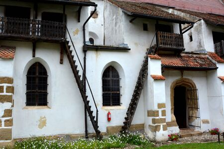 cetatuia: Fortified church Harman (honigburg), Transylvania