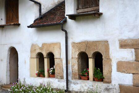 fortified: Fortified church Harman, Transylvania, Romania Stock Photo