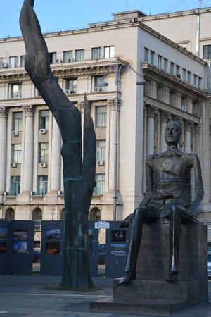 central square: Central square in Bucharest Editorial