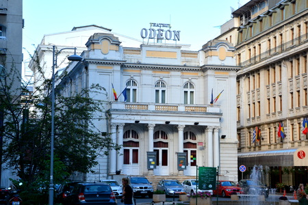 unique characteristics: Theater Odeon in Bucharest