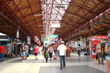 Railstation Bucharest Sajtókép