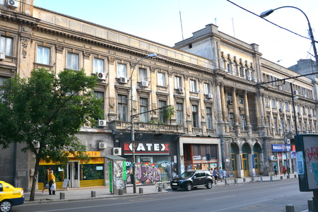 typical: Typical building in Bucharest