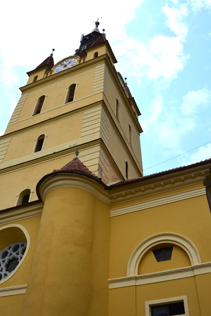 cristian: Medieval fortified church Cristian, Transylvania